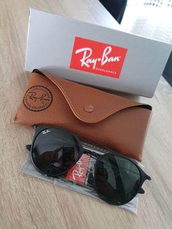 Okulary Rayban oryginalne. Zestaw