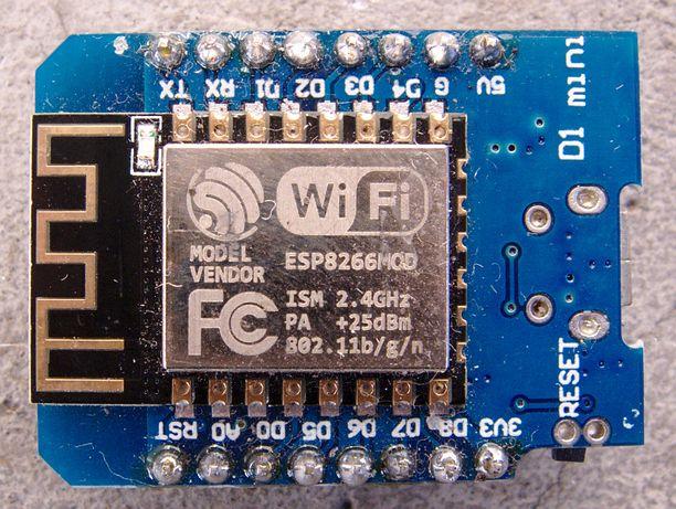 WeMos D1 mini ESP8266 - płytka Arduino z WiFi