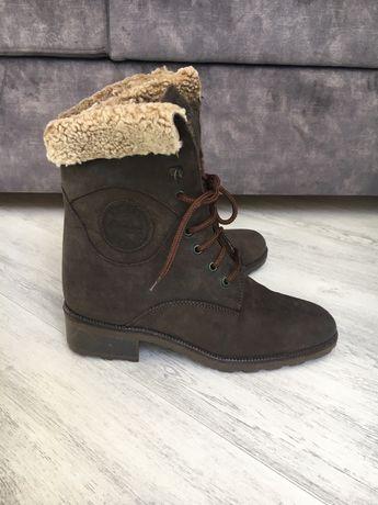 Зимние ботинки овчина genmark