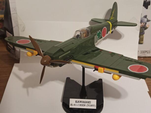 Лего COBI самолёт истребитель KAWASAKI