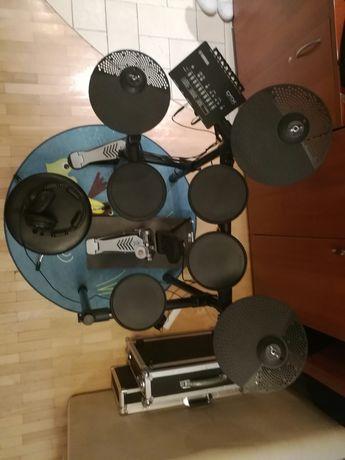 Yamaha DTX452k perkusja elektronicznа, pałeczki, dywan