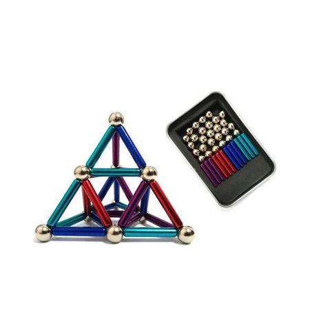 Магнитный  конструктор Neo 36 палочек и 27 шариков Разноцветный