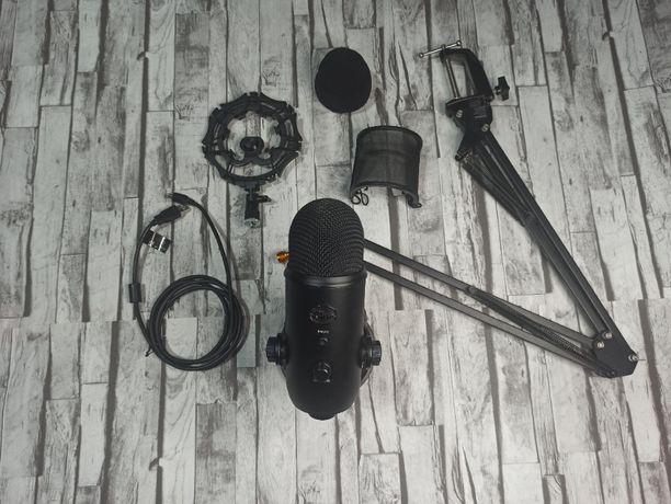 Mikrofon Blue Yeti + akcesoria
