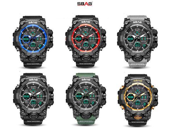 Zegarek G SHOCK SBAO wojskowo sportowy