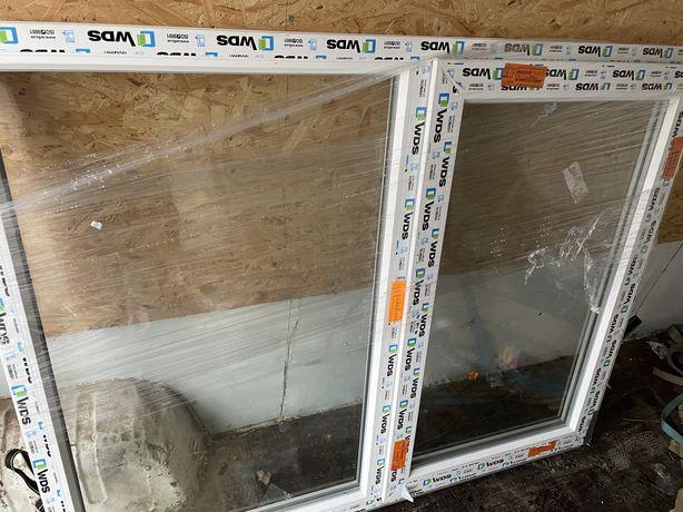 Металопластикові вікна, ціна за дві шт.