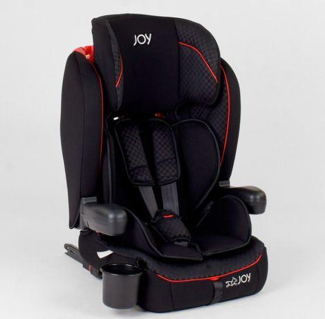 Детское автокресло JOY система ISOFIX группа 1/2/3, вес 9-36 кг.