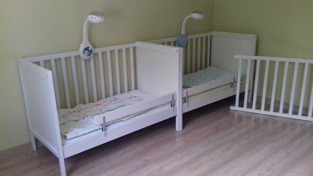 Łóżeczko dziecięce z Ikei sundvik 2 sztuki