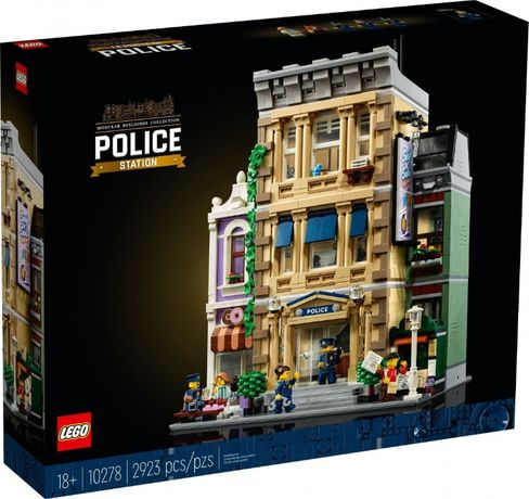 Lego Creator Expert Полицейский участок 10278