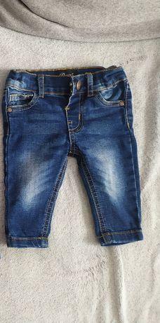 Spodnie jeansy chłopiec 62