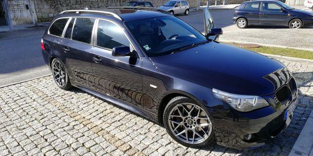 Troco BMW 535D E61 por Porsche Caynne