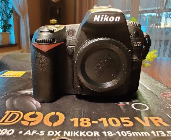 Nikon D90 Body stan idealny + torba Nikon