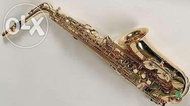 Saxofone alto e kit de acessórios