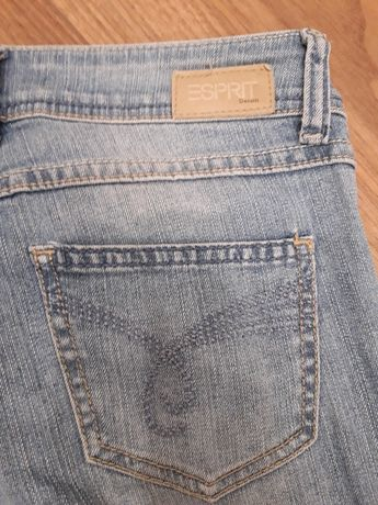 spodnie jeans Esprit Denim W25L32 pas 75cm