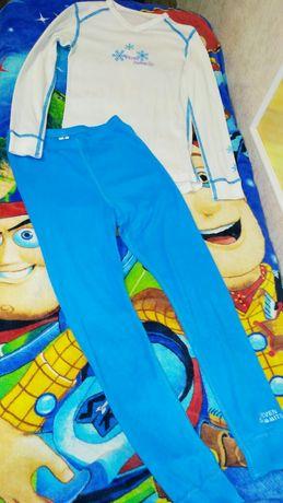 Термо белье для девочки мальчика костюм 128