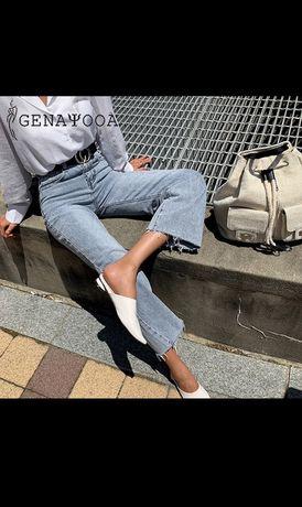 Джинсы в стиле Zara