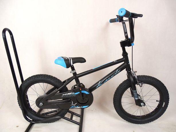 Rower chłopięcy BMX KANDS NINJA 16'' niebieski
