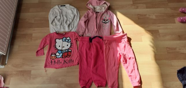 Ubrania dziewczynka 92 - 104