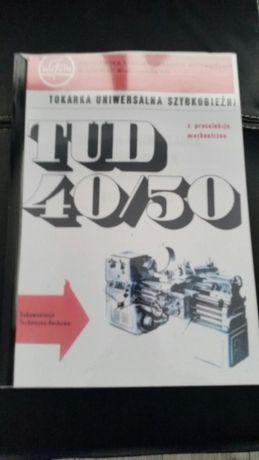 Instrukcja DTR TOKARKA TUD 40 50