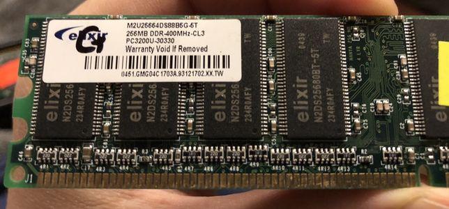 Pamięć RAM Elixir 256MB, PC3200U, 400MHz