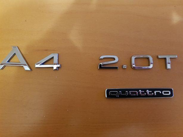 Emblemat A4 2.0T quattro