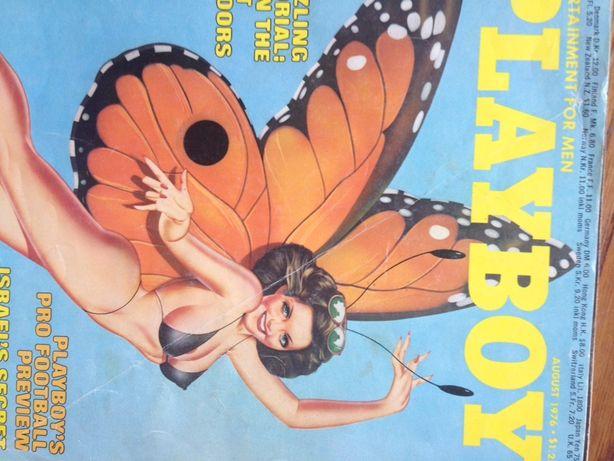 Playboy August 76 i polskie wydanie z lipca 2008 ,gazety