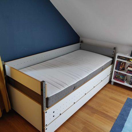 Łóżko młodzieżowe VOX Smart + materac IKEA Morgedal 200x90cm