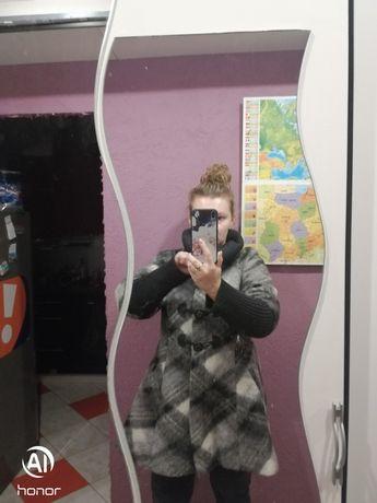 Płaszcz zimowo-jesienny ciążowy