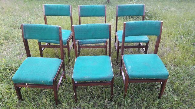 Krzesła drewn.4szt za 90zł