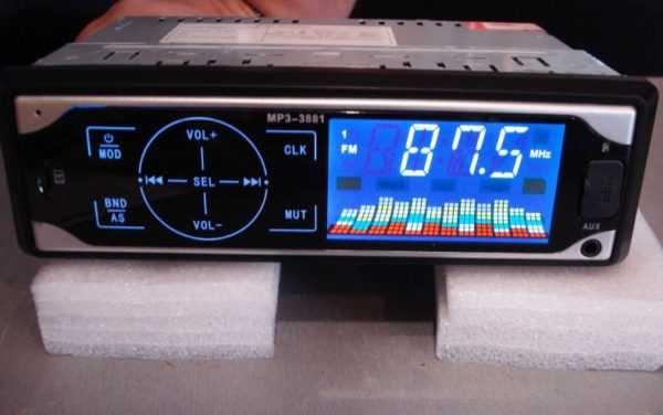 Автомагнитола сенсорный дисплей mp3 1din ISO