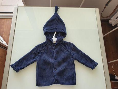 NEXT śliczny sweter sweterek 68 cm!