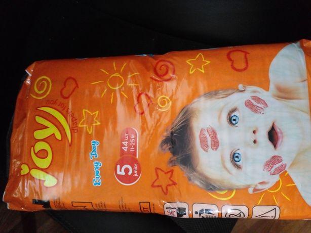 Подгузники памперсы joy  5 44 шт