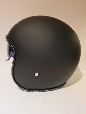 Capacete classico aberto caferacer shooper moto scooter novo