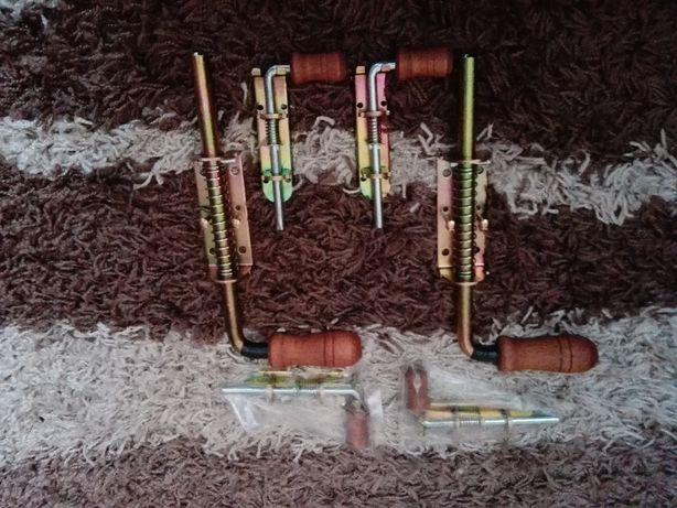 Zasuwy ryglowe sprężynowe ocynkowana - 300 mm./150 mm Zasuwy OKAZJA
