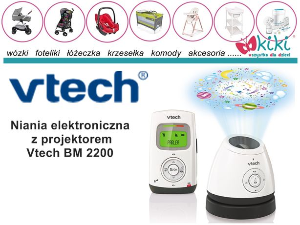 Niania elektroniczna projektorem Vtech BM2200