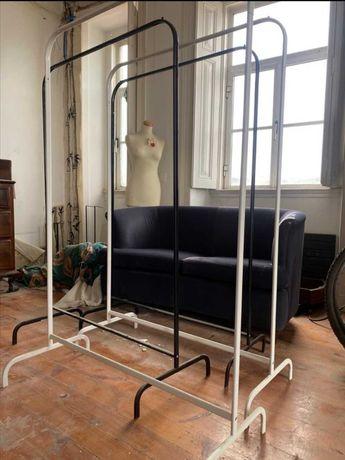 Charriot - Suporte cabides Ikea Mulig preto (1)