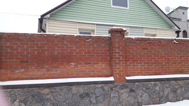 Продам дом Холодная Гора, кирпич, утеплен, капитальный ремонт.
