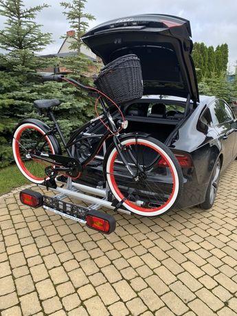 Bagażnik rowerowy na hak 2 rowery platforma wypożyczę wynajmę