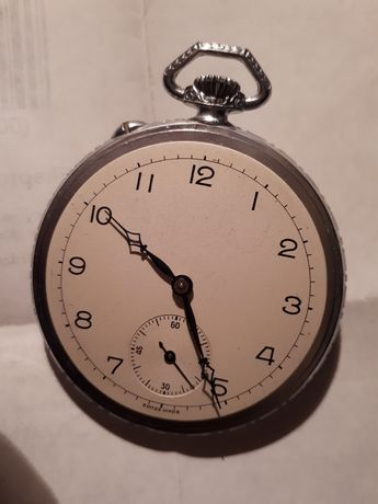 Zegarek kieszonkowy do naprawy lub na części.