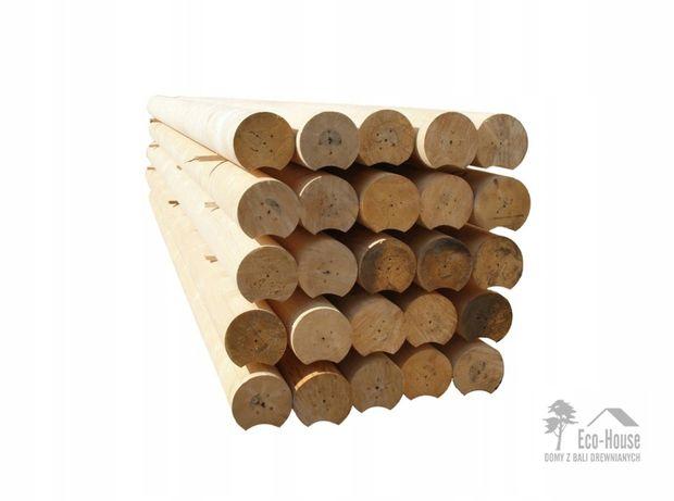 BALE DREWNIANE - Zbuduj dom z bali - Średnica 160 mm