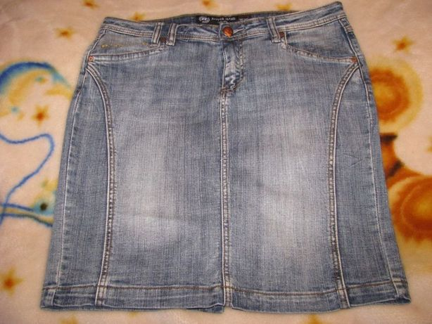 Jeansowa mini spódniczka firmy Rapper Jeans