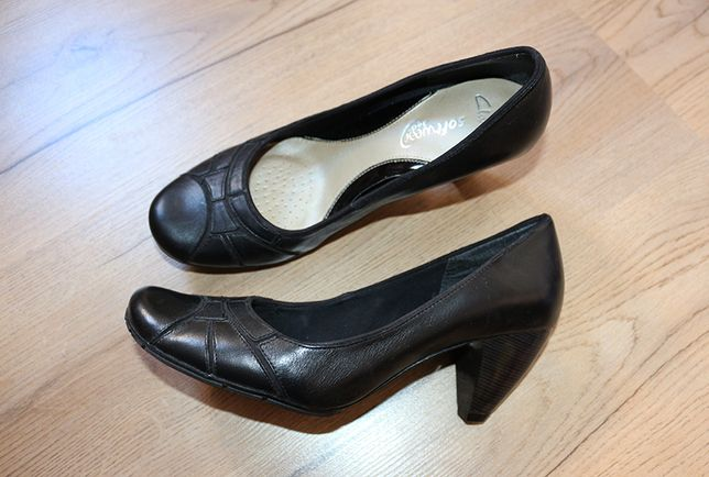 Туфлі шкіряні, р.38, Clarcs, Німеччина / туфли