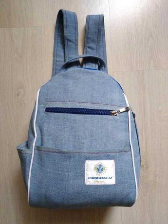 Стильный джинсовый городской рюкзак HadWan. В наличии.
