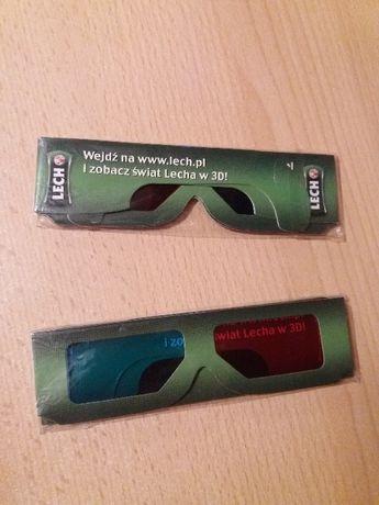 Okulary 3D Lech edycja limitowana filmy 3D