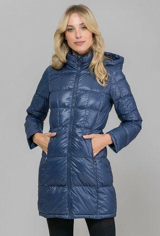 Pikowany płaszcz jesienno wiosenny Monnari 36 S