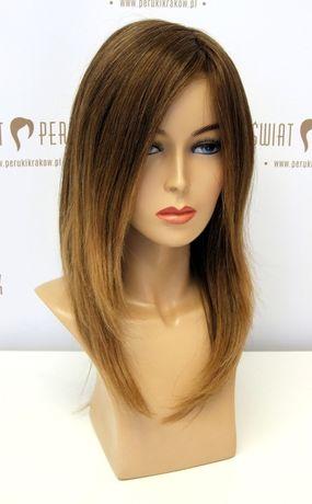 Peruka długa z włosów naturalnych Zielona Góra