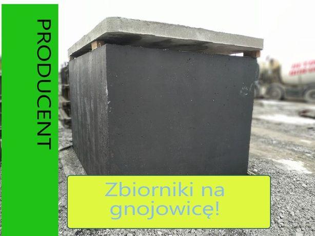 Zbiornik na gnojowicę betonowy ścieki rolnictwo szamba szambo betonowe