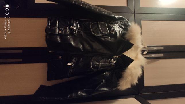 Продам куртку кожаныую