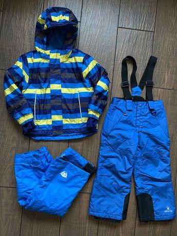 Продам зимний комплект Lupilu куртка + 2е штанов, 98-104 см