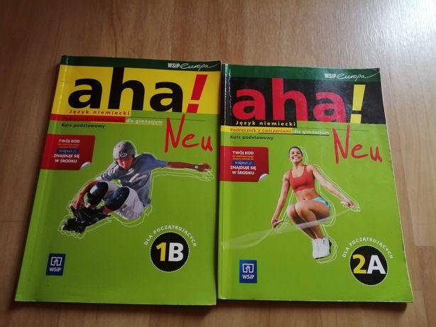 Aha! Neu 1B i 2A. Język niemiecki podręcznik z cwiczeniami.