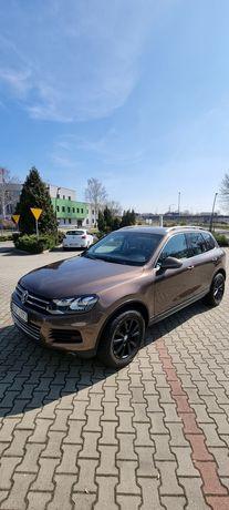 VW Touareg 4.2 tdi 2010r bezwypadkowy full opcja panorama radar